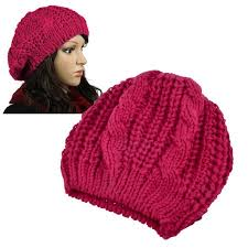 barret hat zodaca unisex womens mens winter warm knit beret hat beanie