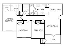 3 Bedroom 2 Bath Open Floor Plans 2 Bedroom 2 Bath Open Concept Floor Plans U2013 Home Ideas Decor
