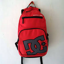 Tas Dc Asli bissmillah for sale backpack dc original 2 slott ada slot laptop