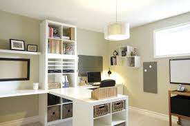 White Ikea Billy Bookcase by Office Design Minimalist Home Office Contemporary Minimalist