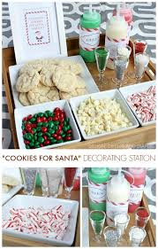 cookie party supplies christmas cookie decorating station cookie decorating christmas