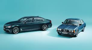 bmw celebrates 40 years of the 7 series with special edition