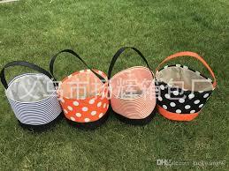 2017 wholesale blanks new designs stripe halloween buckets