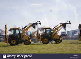 north wales demonstration showing the versatility of jcb diggers