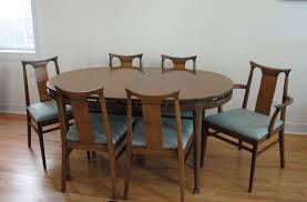 mid century dining room table furniture cool brown laminated mid century dining chair furniture