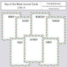 30 week journal cards images