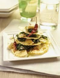 cuisiner le basilic recette demi lune tomate basilic mozzarella épinards et chèvre