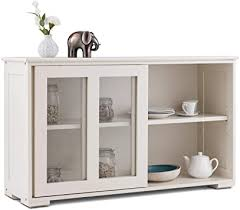 glass kitchen cabinets sliding doors sideboard buffet cupboard glass sliding door