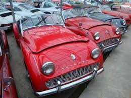 triumph tr3 lhd american import cabriolet roadster 1963 red lhd