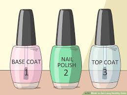 3 ways to get long healthy nails wikihow