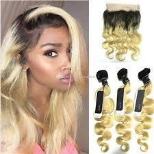 dark roots blonde hair 2018 garde 8a ombre hair extensions dark roots blonde virgin human