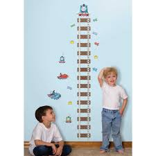 thomas the train growth chart wall decals tank engine bedroom thomas the train growth chart wall decals tank engine bedroom stickers boy decor ebay