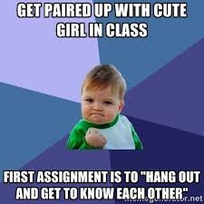 Memes About English Class - english class had never worked in my favor until now meme guy