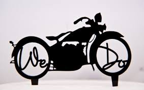 harley cake topper we do harley davidson motorcycle wedding cake topper we do