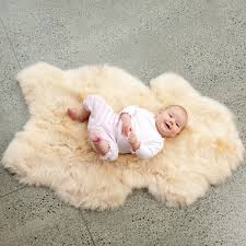 Baby Carpet Flooring Elegant Sheepskin Rug For Inspiring Unique Rug Design
