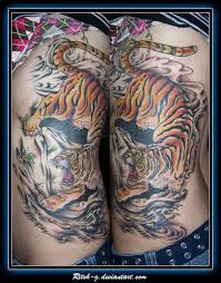 tiger color by ritch g on deviantart