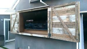 outdoor tv cabinet enclosure outdoor television cabinet large size of patio outdoor outdoor tv