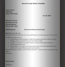 resume cover sheet hitecauto us