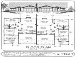 single story duplex floor plans beautiful cheap 1 story house plans house plan