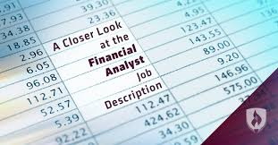 Data Quality Analyst Job Description Reading Between The Lines A Closer Look At The Financial Analyst