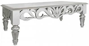 silver mirrored coffee table buy sicula mirrored coffee table with silver trim online cfs uk