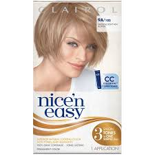 clairol nice n easy natural light auburn clairol nice n easy 9a 102 natural light ash blonde permanent