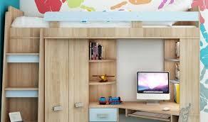 lit bureau armoire lit combine bureau bureau avec rangement en hauteur lit combine