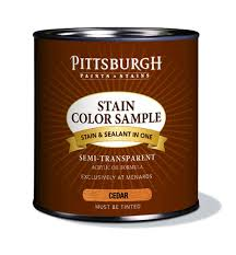 pittsburgh paints u0026 stains exterior stain color samples cedar