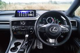 lexus steering wheel 2017 lexus rx 450h f sport review carwitter