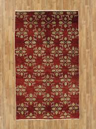 Orange And Brown Area Rugs 4 U00279 U2033 X 8 U2032 Modern Gabbeh Pakistani Area Rug Nyc Rugs Antique