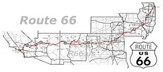 map us highway route 66 usa 2012 cali route 66 route 66 cali and leipzig route 66 highway