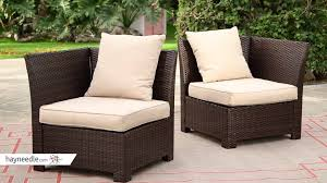 All Weather Wicker South Isle All Weather Wicker Dark Brown Conversation Set Seats