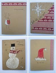 53 easy to make diy christmas card ideas christmas pinterest