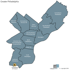map of philly greater philadelphia map