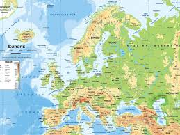 Russia Physical Map Physical Map by Download Geography Europe Map Inside Physical Features