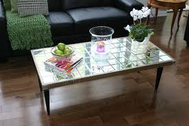 cheap mirrored coffee table diy mirrored coffee table