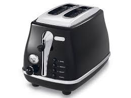 Route Toaster De U0027longhi Cto2003 Bk Design Toaster Icona Collection