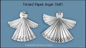 folded paper craft