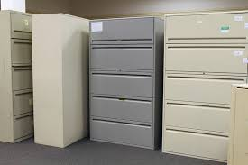 5 Drawer Lateral File Cabinets Haworth Used File Cabinet Office Furniture Warehouse