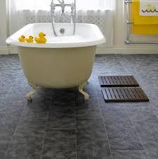 laminate bathroom flooring tile effect trend interior home design