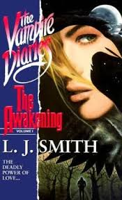 original cover of the 1st book in the vire diaries series