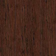 Millstead Cork Flooring Reviews by Millstead Cherry Mocha 3 8 In Thick X 4 1 4 In Wide X Random