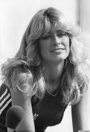updated farrah fawcett hairstyle farrah fawcett s famous flip hairstyle over the years photos