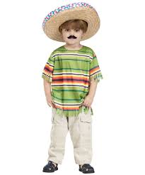 Halloween Costumes Mexican Amigo Toddler Boys Costume Cinco Mayo