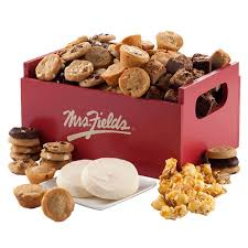 mrs fields brownies mrs fields cookies deluxe crate