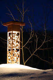 decorative outdoor lighting asheville