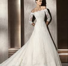 wedding dresses with sleeves fall lace the shoulder wedding dress with sleeves sang maestro