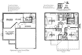 1 1 2 story floor plans potterhill homes brand new 2 story home plan the keaton