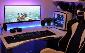 how to build a gaming desk how to build a computer table interior designing perfect custom diy