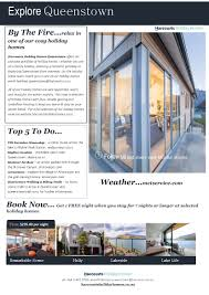 holiday houses queenstown winter warmer newsetter